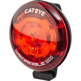 CatEye Wearable Mini SL-WA10 Veiligheidslamp, red